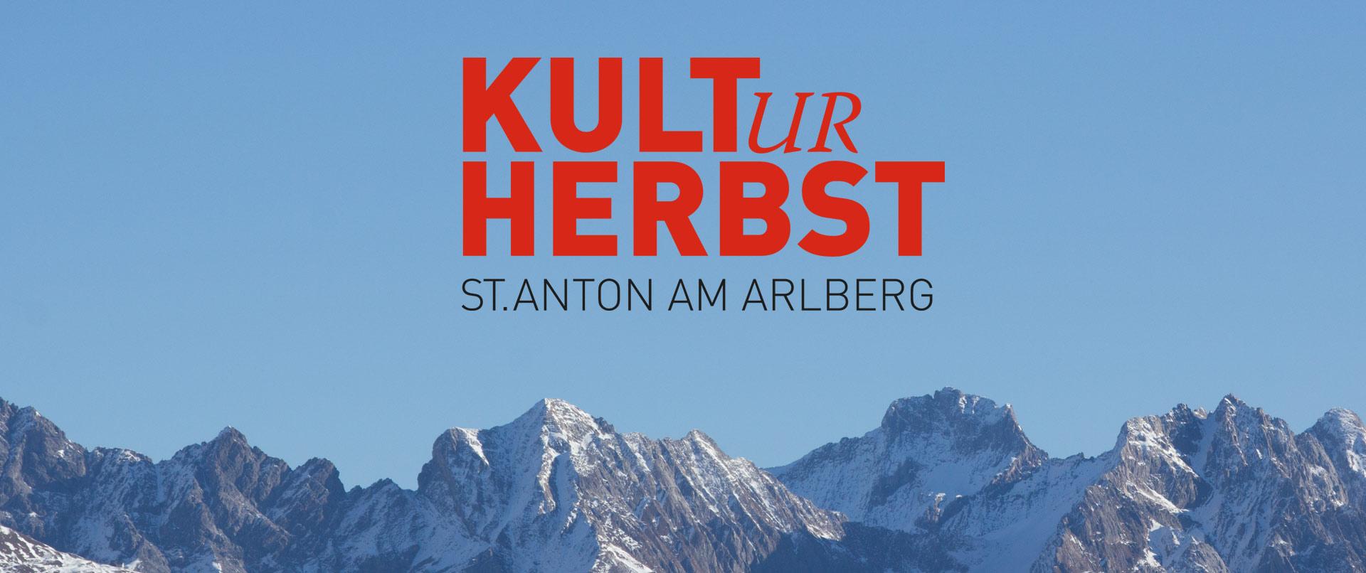 Der KULTurherbst in St. Anton am Arlberg